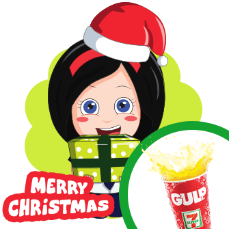Eat gulp and be merry
